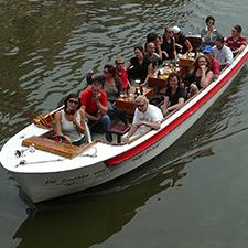 rondvaart open boot
